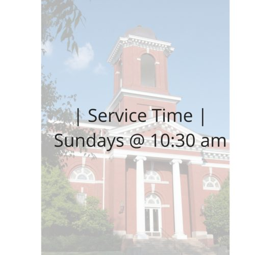 | Service Time |Sundays @ 10_30 am